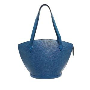 Louis Vuitton Torba na ramię niebieski Skóra
