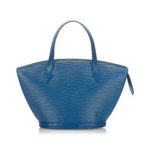 Louis Vuitton Borsa a tracolla blu Pelle