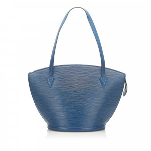 Louis Vuitton Shoulder Bag blue leather