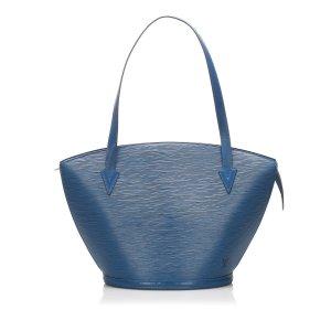 Louis Vuitton Torebka podręczna niebieski Skóra