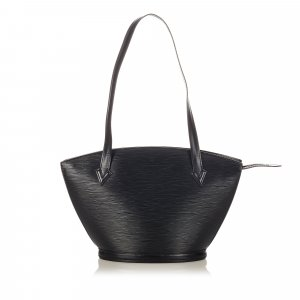 Louis Vuitton Sac fourre-tout noir cuir