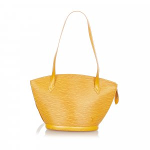Louis Vuitton Borsa a tracolla giallo Pelle