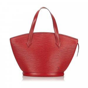 Louis Vuitton Handbag red leather