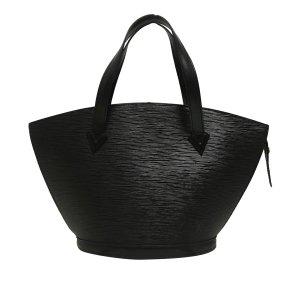 Louis Vuitton Sac à main noir cuir