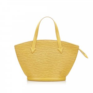 Louis Vuitton Handbag yellow leather
