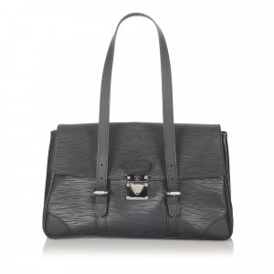 Louis Vuitton Torba na ramię czarny Skóra