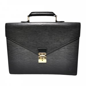 Louis Vuitton Serviette noir cuir