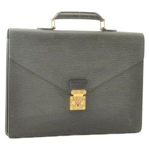 Louis Vuitton Tas zwart Leer