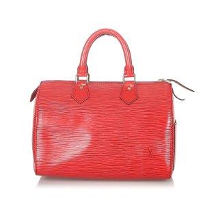 Louis Vuitton Torebka podręczna czerwony Skóra