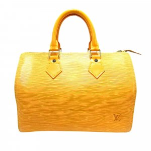 Louis Vuitton Torebka podręczna żółty Skóra