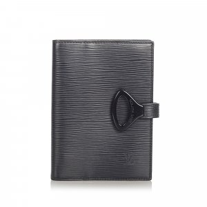 Louis Vuitton Minibolso negro Cuero