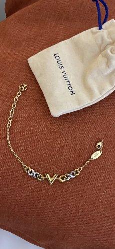 Louis Vuitton Armband goud-zilver