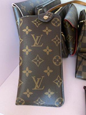 Louis Vuitton Borsetta mini marrone Lino