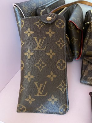 Louis Vuitton Mini sac brun lin