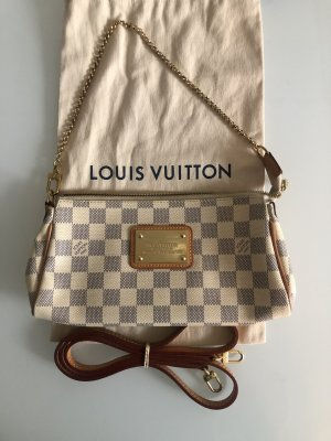 Louis Vuitton Eva Azur Canvas Crossbody Bandouliere