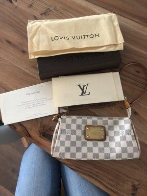 Louis Vuitton Eva damier Azur Pochette Clutch Handtasche