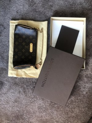 Louis Vuitton Pochette marrone scuro-marrone