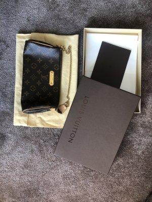 Louis Vuitton Bolso tipo pochette marrón oscuro-marrón