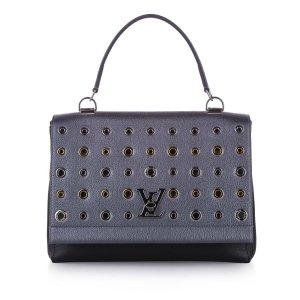 Louis Vuitton Satchel blauw Leer