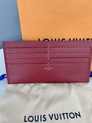 Louis Vuitton Custodie portacarte rosso