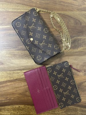 Louis Vuitton Felicie Pochette in Monogram