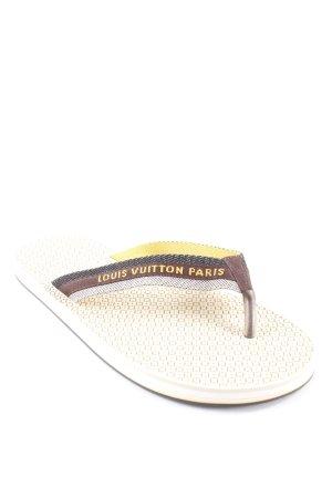 Louis Vuitton Flip Flop Sandalen Blumenmuster Plastikelemente