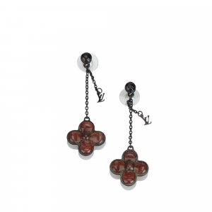 Louis Vuitton Floral Glass Earrings