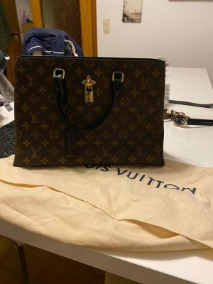 Louis Vuitton Borsa con manico marrone scuro