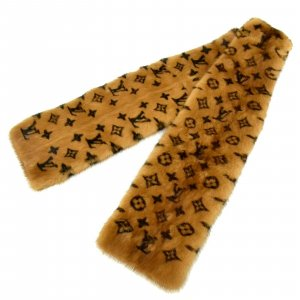 Louis Vuitton Fur Scarf