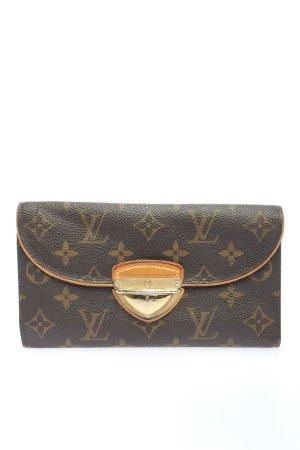 Louis Vuitton Geldbörse braun-creme Allover-Druck Elegant