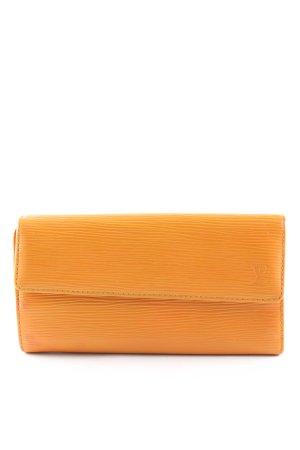 Louis Vuitton Geldbörse hellorange Elegant