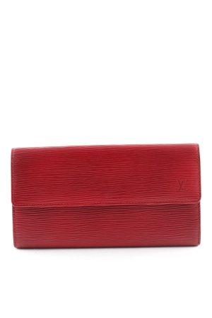 Louis Vuitton Geldbörse rot Business-Look