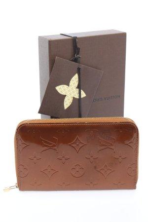 Louis Vuitton Geldbörse braun Motivdruck Business-Look