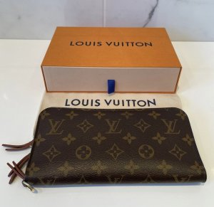 Louis Vuitton Geldbörse Canvas Monogram