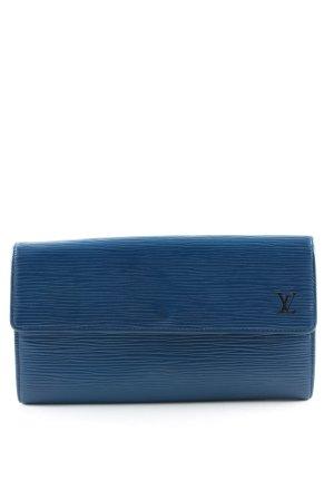 Louis Vuitton Geldbörse blau Business-Look