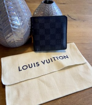 Louis Vuitton Geldbörse Marco Damier Graphite Canvas