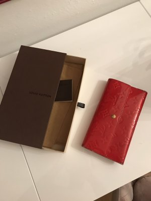 Louis Vuitton Geldbörse rot