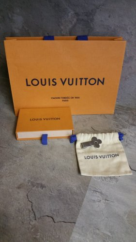 Louis Vuitton Medallion silver-colored