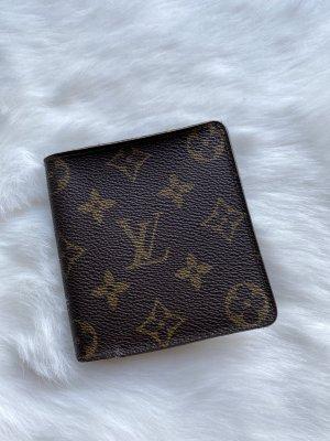 Louis Vuitton Custodie portacarte marrone-cognac Pelle