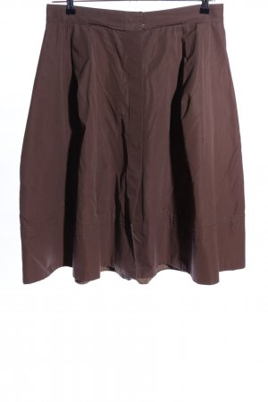 Louis Vuitton Flared Skirt brown casual look