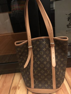 Louis Vuitton GM canvas bucket bag Neverfull shopper Handtasche Monogram
