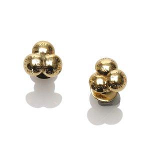 Louis Vuitton Gold-Tone Cufflinks