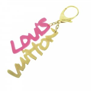 Louis Vuitton Key Chain pink