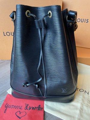 Louis Vuitton Grande Sac NOE GM EPI Leder schwarz Noir Beuteltasche Umhängetasche black