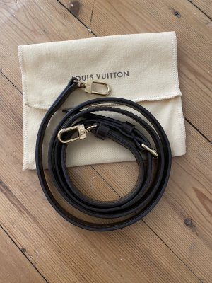 Louis Vuitton Gurt Riemen Top Leder Damier Ebene Canvas Bandouliere Crossbody