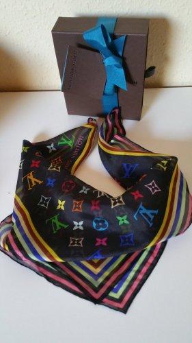 Louis Vuitton Fazzoletto da collo nero Cotone