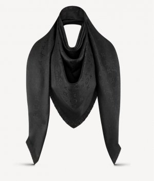 Louis Vuitton Halstuch in schwarz