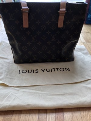 Louis Vuitton Handbag cognac-coloured
