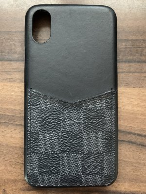 Louis Vuitton Handyhülle / Bumper Damier Canvas für iPhone XS