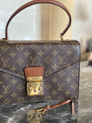 Louis Vuitton Carry Bag brown-light brown